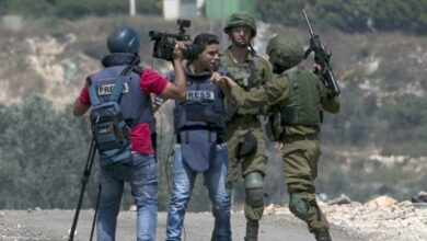 Photo of WAFA: Israeli occupation committed 213 violations against journalists in 2020