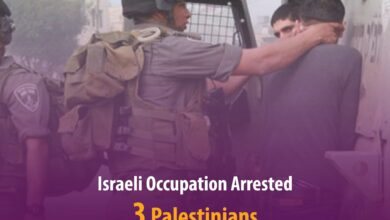 Photo of Israeli occupation arrested 3 Palestinians arrested in the West Bank.
